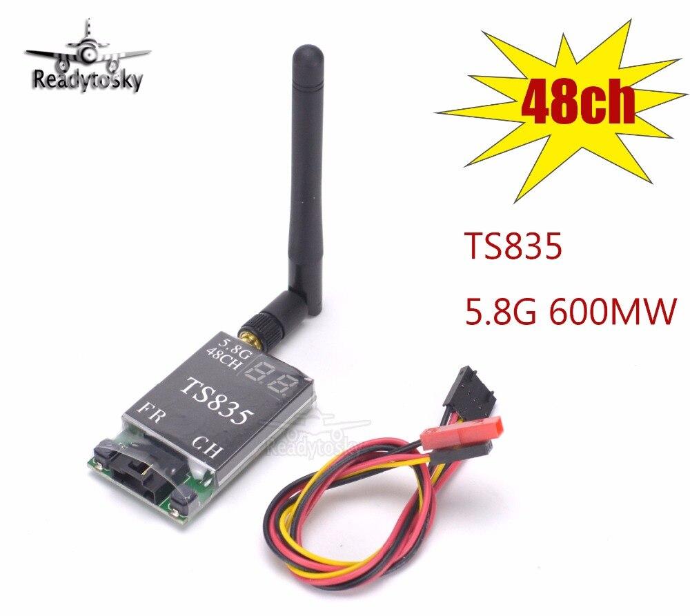 TS835 FPV 5.8G 600 MW 48CH (2-6 S) Kablosuz AV Verici TS832 Daha iyiTS835 FPV 5.8G 600 MW 48CH (2-6 S) Kablosuz AV Verici TS832 Daha iyi