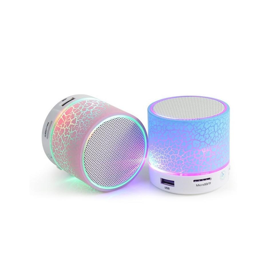 Speakers Portable LED Mini Wireless Speaker speakers Bluetooth Portable Wireless Speaker with fm Radio for iphone Android Xiaomi