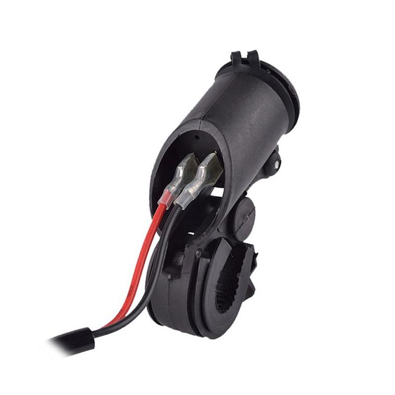 Uus 12 ~ 24V veekindel mootorratas Dual USB laadija sigaretisüütaja - Autode Elektroonika - Foto 4