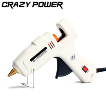 CRAZY POWER 60W/100W Dual Power Electric Heating  High Temp Heater Hot Melt Glue Gun Sticks Trigger Art Craft Repair Tool