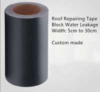 Butyl Tape Adhesive Flashing Tape Pipe Glass Floor Roof Wall Waterproof Paste Sealer 5cm 10cm 15cm 5m Dark Green Silver