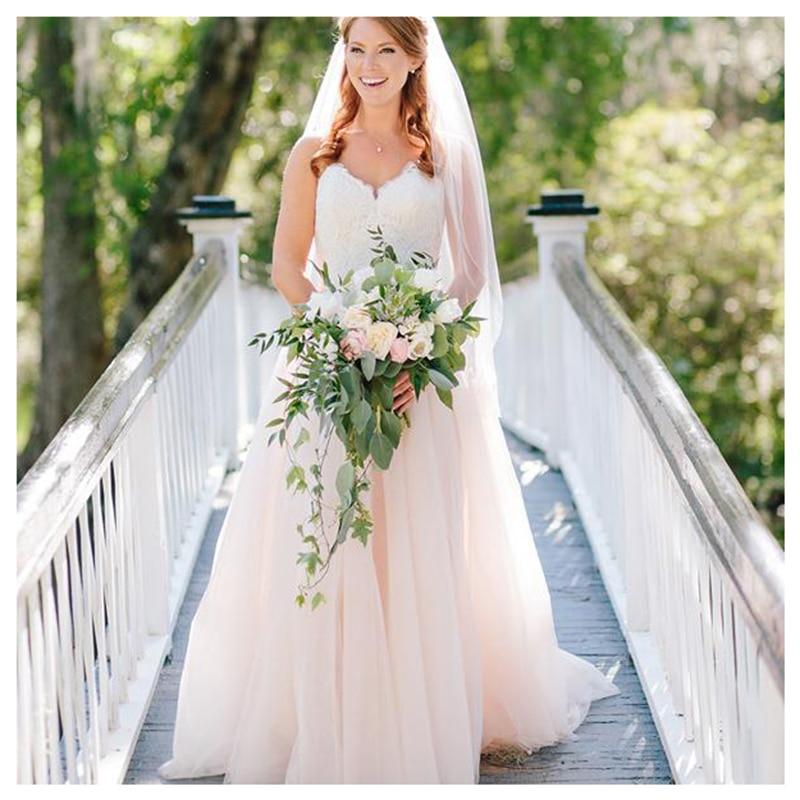 2cd16bc94f22bba SoDigne Топ Кружева Аппликации Свадебные платья 2019 простой дизайн платье  для невесты без спинки длинным шлейфом платье белое свадебное платье .