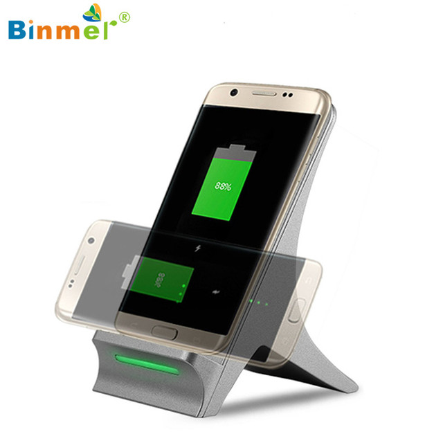 Hot-sale Phone Charger Gifts 3 Coils Qi Wireless Fast Charger Charging Stand Dock Holder For Samsung S7 Edge Smart phone