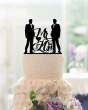 Mr & Mr Cake Toppers For Weddings Acrylic Wedding Decoration Personalised Cake Toppers Custom Decoration Mariage Modern Toppers