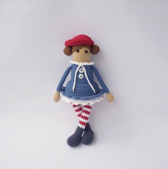 Candy Girl amigurumi pattern - Amigurumipatterns.net | 571x570