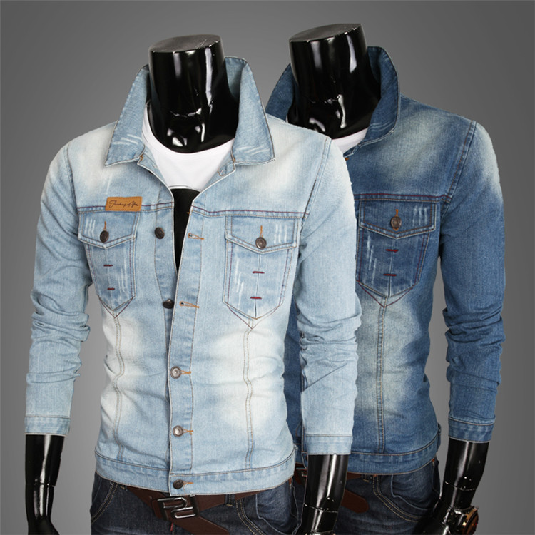New Spring Autumn Man Denim Jacket Men Sportswear casual Casual ...