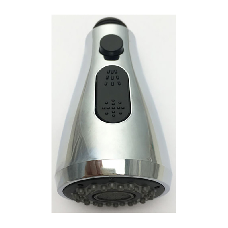 Chrome Kitchen Pull Out Down Sprayer Faucet Replacement Spray Shower Head
