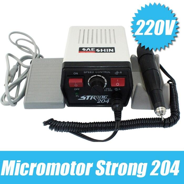 Free Shipping!  Strong 204 Dental 35K Marathon Polishing Micromotor 102L Handpiece Polisher
