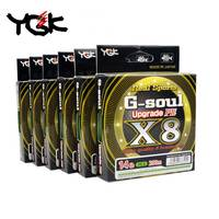 Original YGK G SOUL X8 upgrade 150M/200M PE 8 BraidED Fishing Line Made in Japan linha multifilamento high strength Smooth