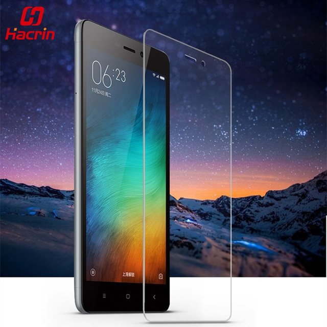 hacrin Xiaomi Redmi 3S Tempered Glass 5.0inch 9H 2.5D Premium Screen Protector Film For Redmi3 S hongmi 3S Pro Prime Redmi 3