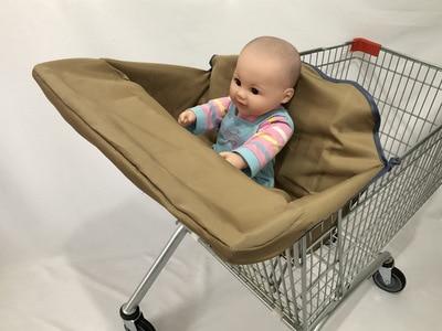 2 в 1 детская корзина гамак тележка для обеденного стула защиты антибактериальные безопасности дорожная подкладка Защитная крышка для детей - Цвет: 6