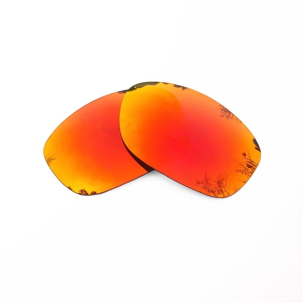 Оранжевый, красный зеркальные Поляризованные замены линзы для питбуль солнцезащитные очки кадр 100% UVA и UVB