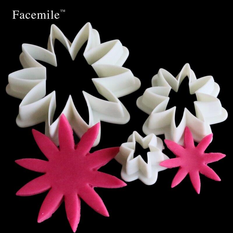Daisy flower galleta regalo girasol émbolo que adorna las herramientas de la mag