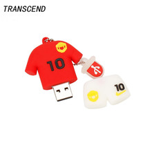 Transcend USB flash drive pen drive jersey external storage 4GB 8GB 16GB 32GB 64GB pendrive large capacity personal memory stick