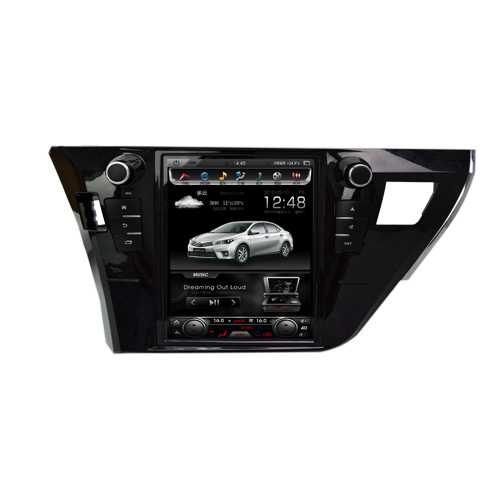 Otojeta Vertical 10 inch Android 6.0 car dvd player for COROLLA 2014-2017 gps navi headunit auto radio stereo