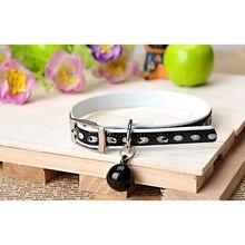 Adjustable PU Leather Sphynx Cat Collar / Necklace