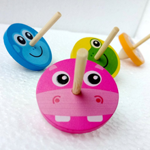1pc Balance Gyro Board Game Children Educational Balance Wooden Gyro Toys Kids Desk Board Game Puzzle Balancing Training Toys(China)