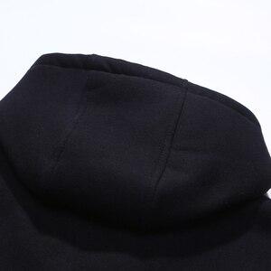 Image 4 - wool hoodies men Autumn winter style hoodies men hoodies wool fleece hoody hooded man Long sleeve fleece streetwear M 4XL 618