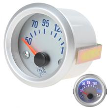 2 Inch Universal Durable 52mm 50~150 Celsius Degree Car Oil Temperature Meter Gauge with Sensor for Auto Car