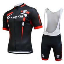 2015 kuota Pro team Cycling Jersey Ropa Ciclismo/Quick-Dry Lycra GEL Pad Race MTB Bike sport sets and Cycling clothes