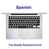 XSKN Thương Hiệu Tây Ban Nha Silicone Mềm Bàn Phím Cover Skin cho apple MacBook Pro air 13 15 17, Cung Cấp nhà máy, MỸ Cổ 10 ngày đến M