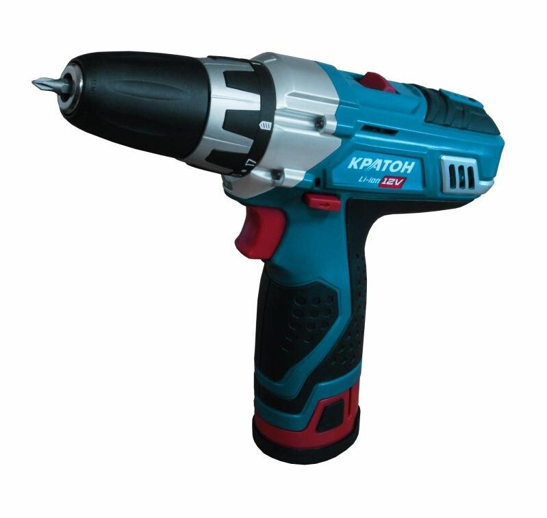 Cordless Drill KRATON CDL-12-2-H 12V 1.3 Ah Li Ion 0-300 / 0-1050 / min 15.9 Nm in the case cordless drill screwdriver kraton cdl 12 1 h