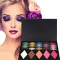 Profissional conjunto Paleta Da Sombra de 25 Cores de Maquiagem Mulheres Destaque sombra de olho de Blush Em Pó Cosméticos Paleta