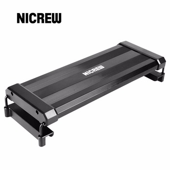 Nicrew Aquarium LED Lighting RGB LED Strip Light With Dimmable Color Changing Remote Control 7W Fits 11 To 19 Inches Fish Tank