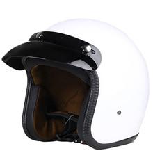 Brand New Vintage Motorcycle Helmet for Harley Open Face Retro Half Helmets Moto Motocicleta Capacete Casco Casque Kask