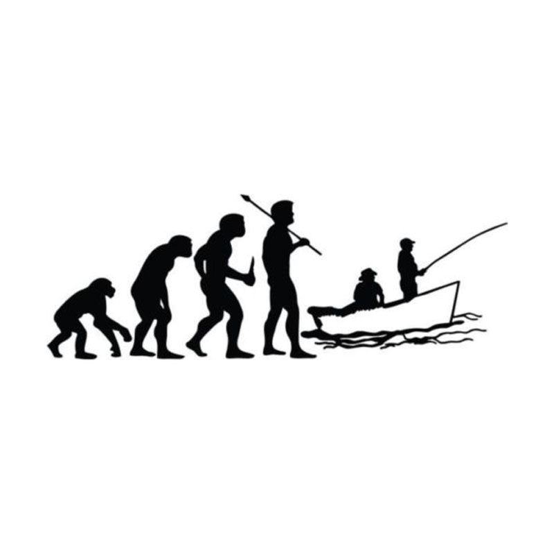 Buy funny car styling for Fishing car stickers