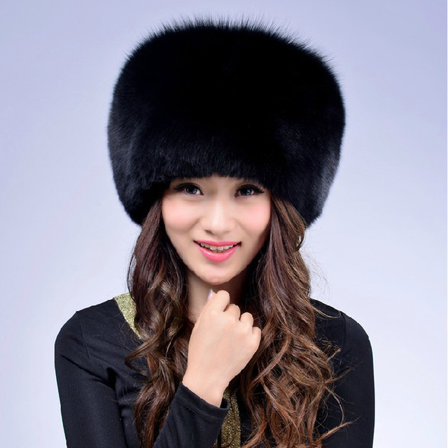 explosion models 2016 winter new imitation fox fur mink fur hat hat lady leisure wild Silky soft, quality assurance