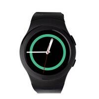 100% Original N ° 1 G3 Bluetooth Relógio Inteligente MTK2502c tela IPS SIM Relógio Monitor De Freqüência Cardíaca para o Iphone Da Apple IOS cartão Ouvir & Android