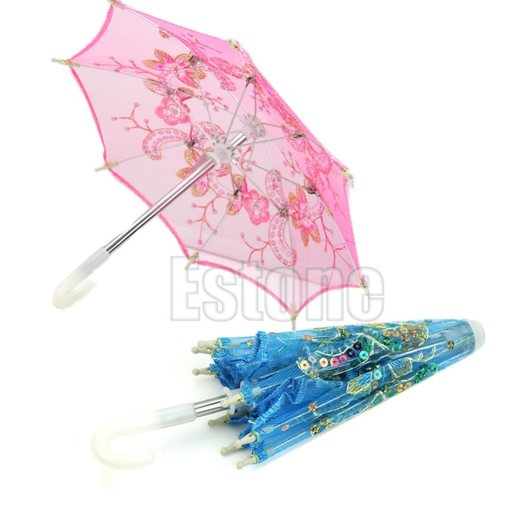 Newest 15cm Craft Embroidered Umbrella Art Decorate For Wedding ...