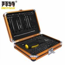 Betals NEUE 92 In1 Werkzeugkasten multifunktions schraubendreher-set ratchet schraubenschlüssel Haushalt Elektrische wartung werkzeuge