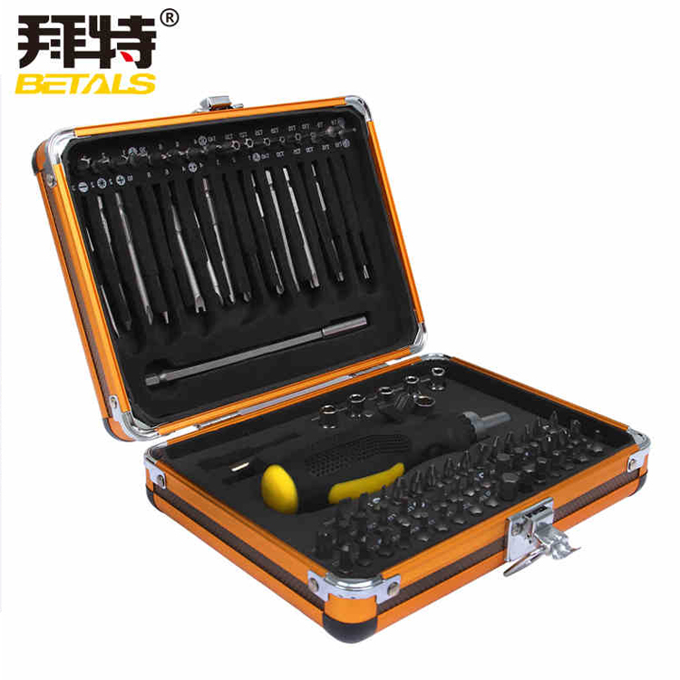 Betals NOUVELLE 92 In1 Boîte À Outils multifonction tournevis à cliquet clé à douille Électrique Domestique outils d'entretien
