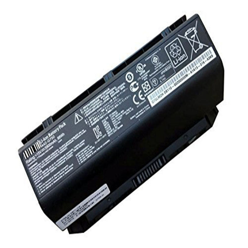 Laptop Battery A42-G750 (15V 88Wh 5900mAh) for Asus G750 G750J G750JH G750JS G750JW G750JX G750JZ Series