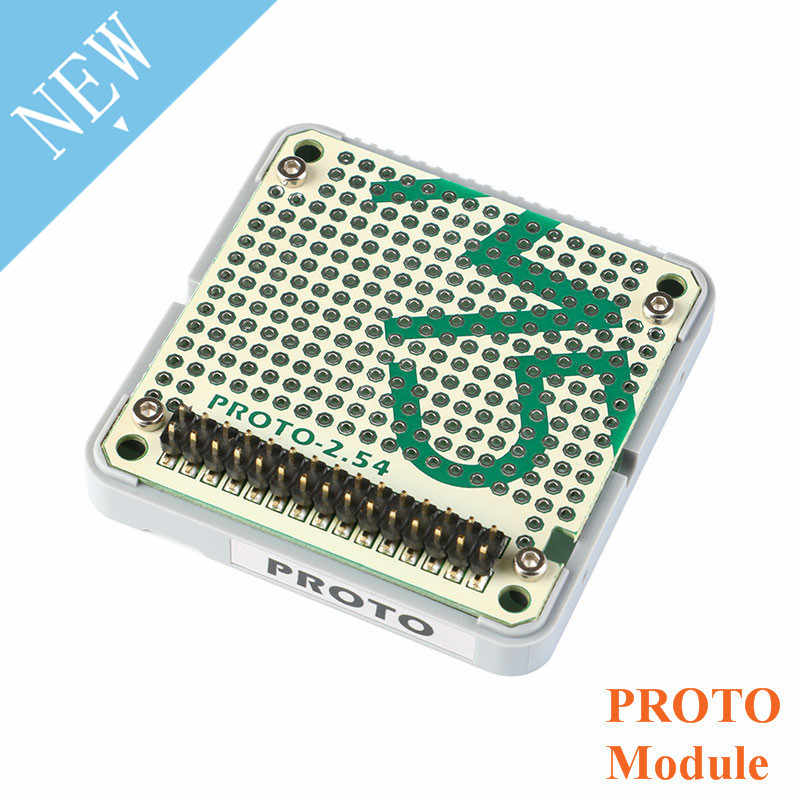 M5Stack Officiële Voorraad Bieden Proto Module Proto Board Met Extension & Bus Socket Voor Arduino ESP32 Development Kit