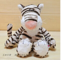 25cm hot new tiger doll fierce jungle brothers plush toys birthday gift 1pcs freeshipping high quality 1pcs
