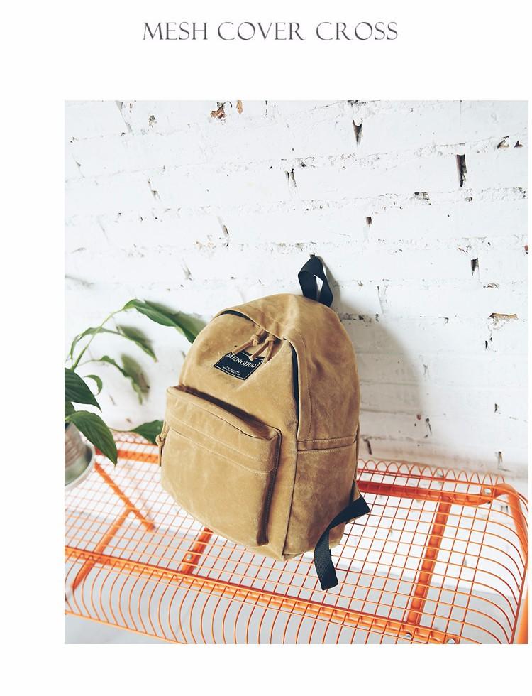 2016 New Women Backpack Preppy Style Suede Backpacks Teenage Girls School Bags Vintage Rivet Travel Backpack Burgundy Gray Black (55)