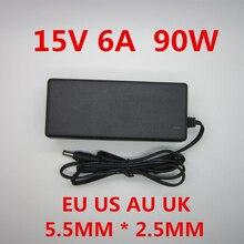 AC 100 240V DC 15 V 6A adattatore adattatore alimentatore adattatore 15 V Volt caricabatterie per Imax b6 80W B6 V2 RC caricabatterie