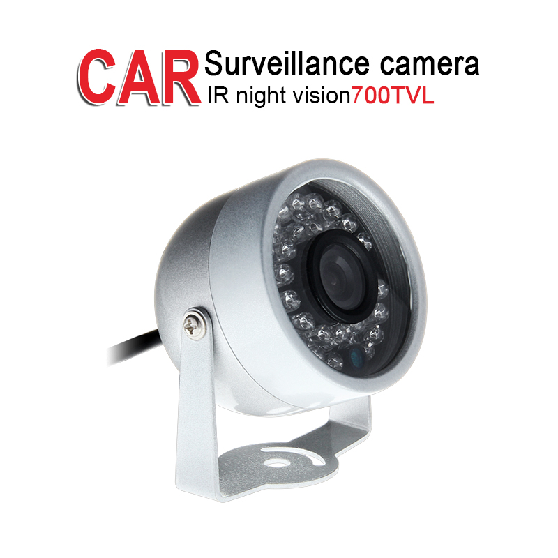Free Shipping 700TVL Mini Metal Vehicle Camera,IR Night Vision,Aviation/AV/BNC 1/3 CCD Sony for Bus Boat Surveillance Security free shipping 4 pin av bnc 700tvl sony ccd ir night vision waterproof car rear view reverse backup camera for bus truck van