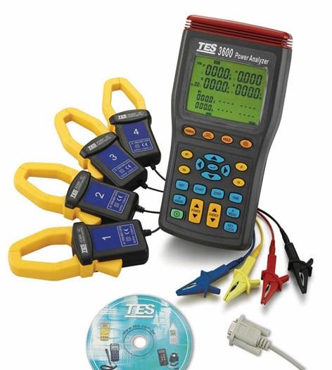 цена на TES3600 Three-phase power harmonic analyzer (RS232)