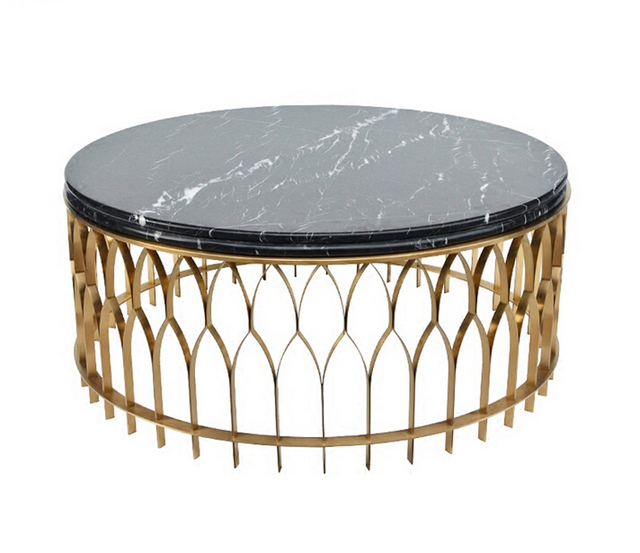 85a6af0a22 2017 new design stainless steel tempered glass tea table living round room coffee  table 002