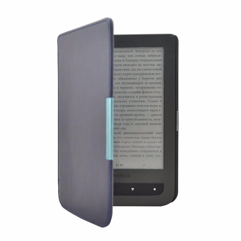 darkblue PU Leather Magnet Pocketbook 614 624 626 640 Smart Case
