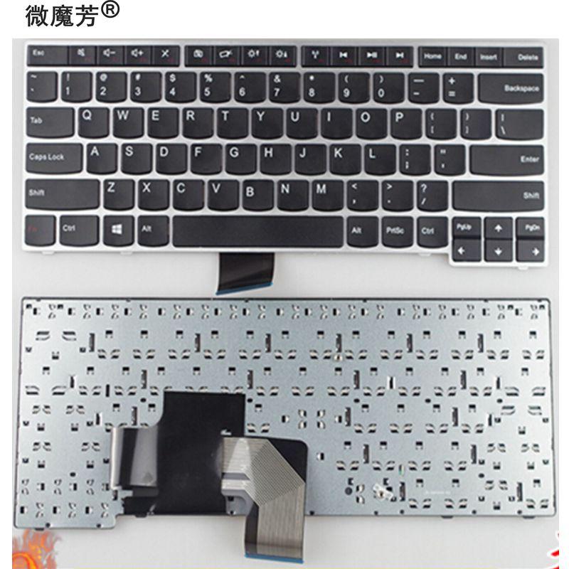 NEW English keyboard FOR LENOVO V490 V490U V490UA IFI LV5 LV3 US laptop keyboardNEW English keyboard FOR LENOVO V490 V490U V490UA IFI LV5 LV3 US laptop keyboard
