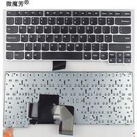 Novo teclado inglês para lenovo v490 v490u v490ua ifi lv5 lv3 eua teclado do portátil