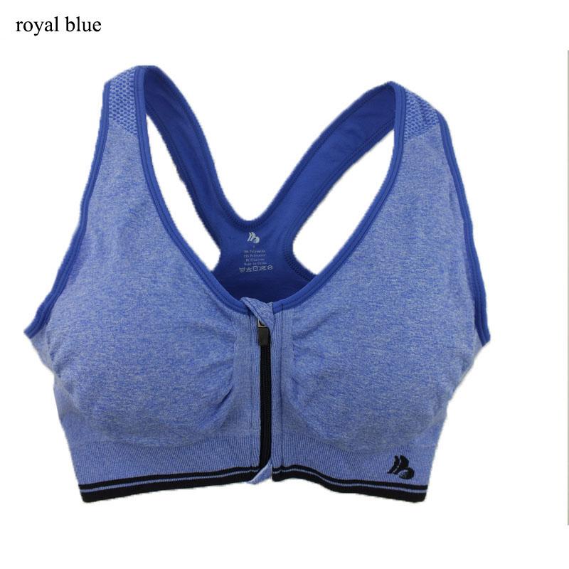 B.BANG 17 New Women Zipper Bra Push Up Crop Top Seamless Sexy Shakeproof Underwear M-XXXL Big Size Wholesale Brassiere 30