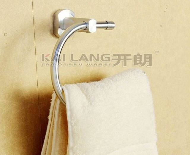 aluminum Towel Hanger bathroom accessories wall mounted towel ring
