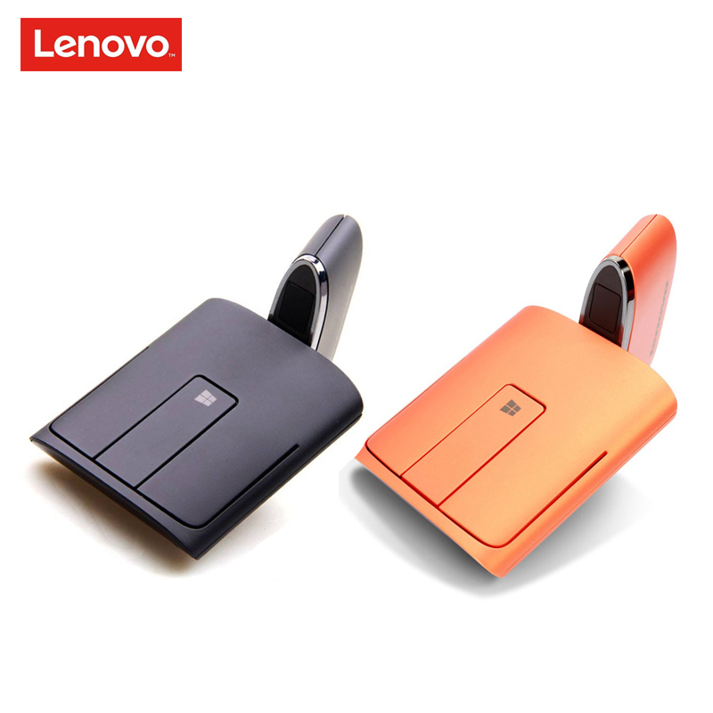 Lenovo N700 Dual Mode Bluetooth 4 0 and 2 4G Wireless Touch Mouse Laser Pointer