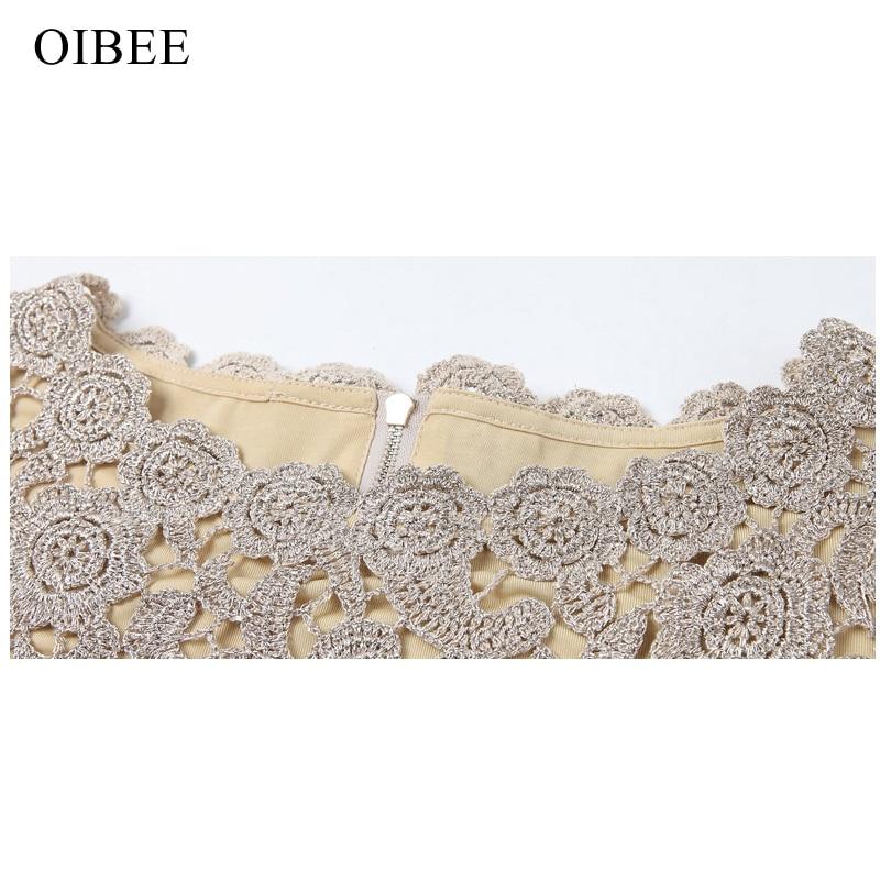 OIBEE Lace Κεντητή Vintage Αμάνικο Άνοιξη - Γυναικείος ρουχισμός - Φωτογραφία 5